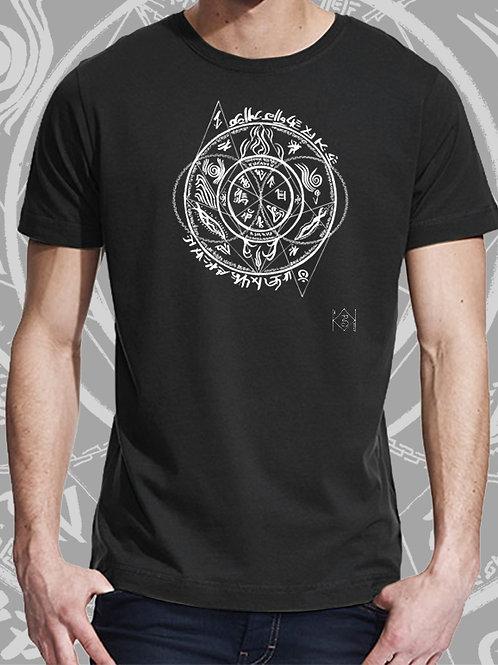 T-shirt Homhös noir