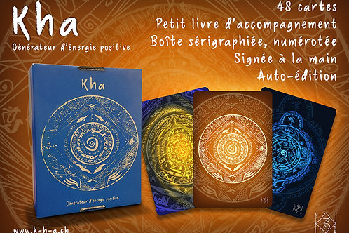 Coffret de cartes Kha