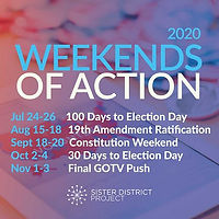 Weekend of Action! 9/19