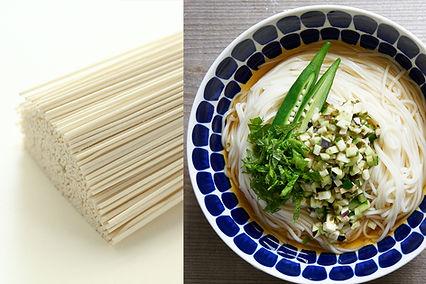 ひやむぎ、天童製麺、そばレシピ、山形のそば
