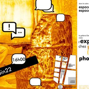 """Exposition des mobiliers et photographies """"Chez Ma Copine"""""""