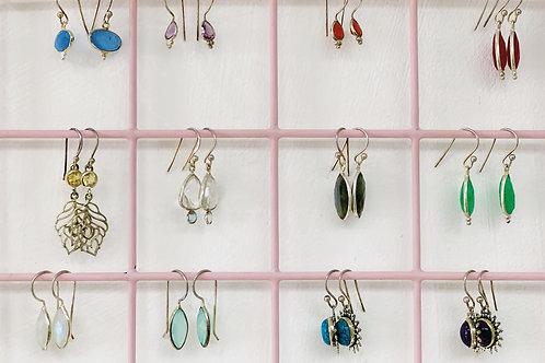 Randomly selected earrings