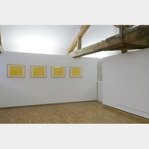 Huit variations pour la Galerie Heiner Friedrich, 1971 (2/2)