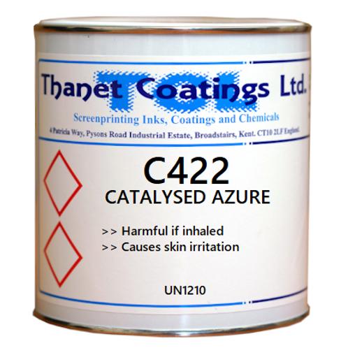 C422 CATALYSED AZURE