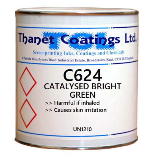 C624 CATALYSED BRIGHT GREEN