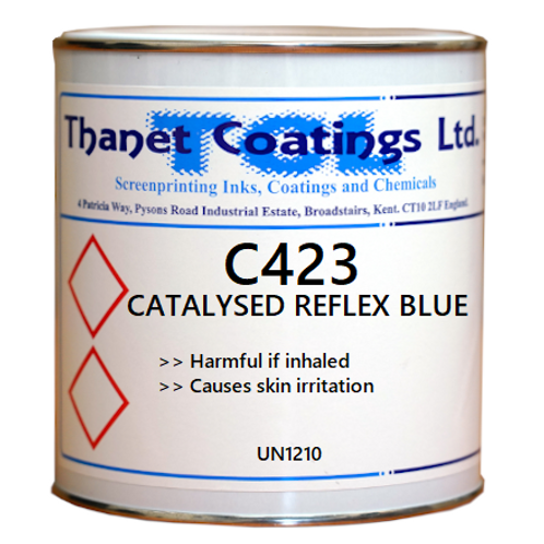 C423 CATALYSED REFLEX BLUE