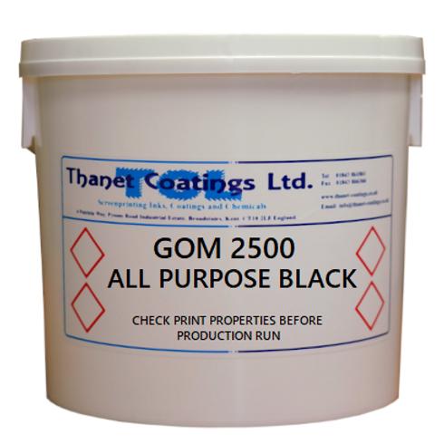 GOM 2500 ALL PURPOSE BLACK