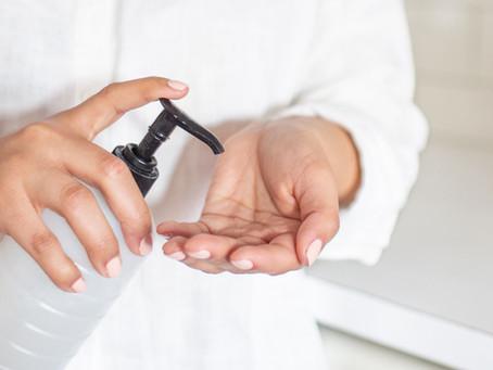 Easy Homemade Hand Sanitiser with I.P.A