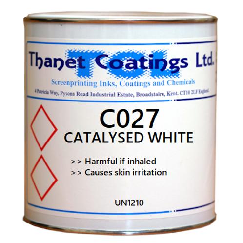 C027 CATALYSED WHITE