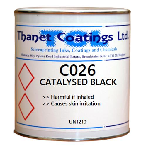 C026 CATALYSED BLACK