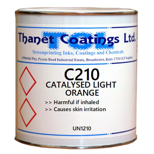 C210 CATALYSED LIGHT ORANGE