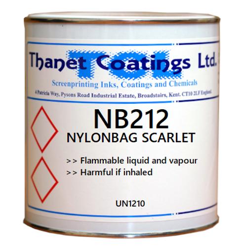 NB212 NYLONBAG SCARLET