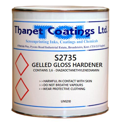 S2735 GELLED GLOSS HARDENER