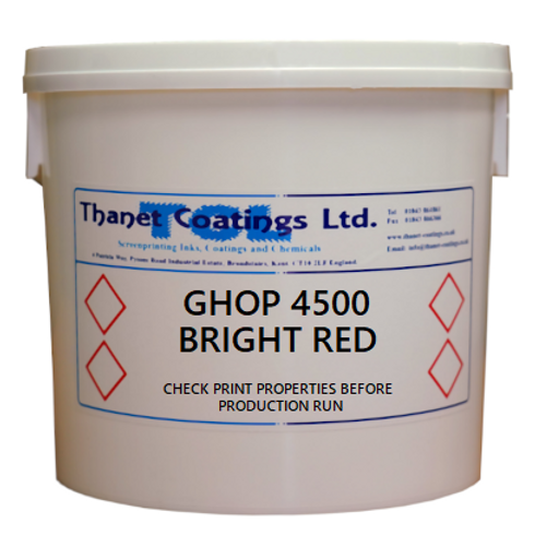 GHOP 4500 BRIGHT RED
