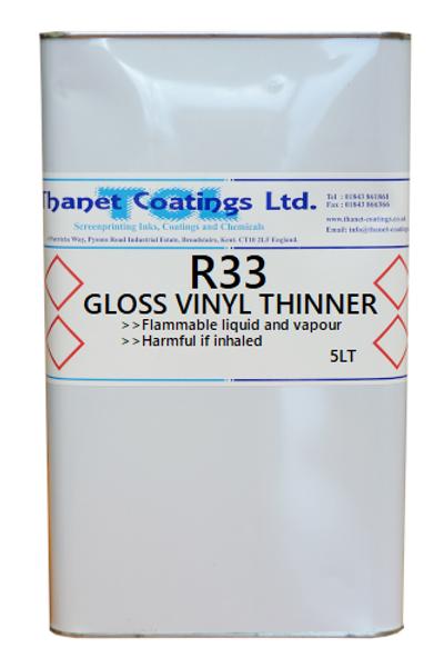 R33 GLOSS VINYL THINNER