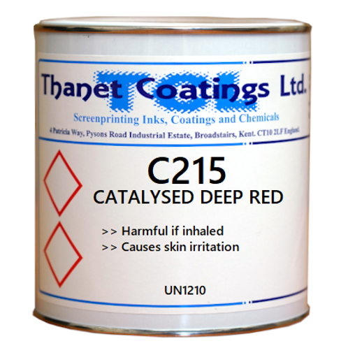 C215 CATALYSED DEEP RED