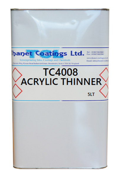 TC4008 ACRYLIC THINNER
