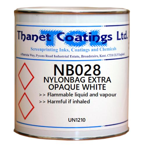 NB028 NYLONBAG EXTRA OPAQUE WHITE