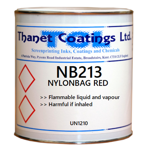 NB213 NYLONBAG RED