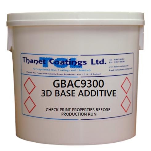 GBAC 9300 3D BASE ADDITIVE
