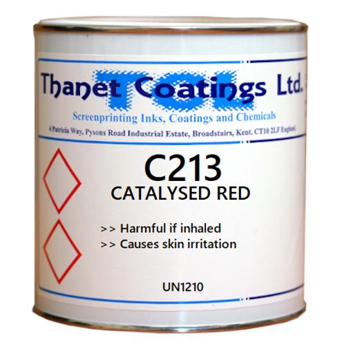 C213 CATALYSED RED
