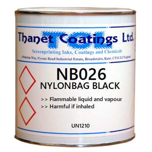 NB026 NYLONBAG BLACK