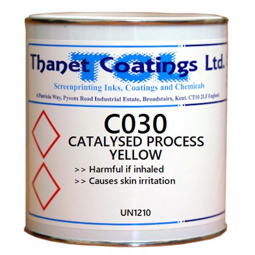 C030 CATALYSED PROCESS YELLOW