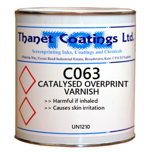 C063 CATALYSED OVERPRINT VARNISH