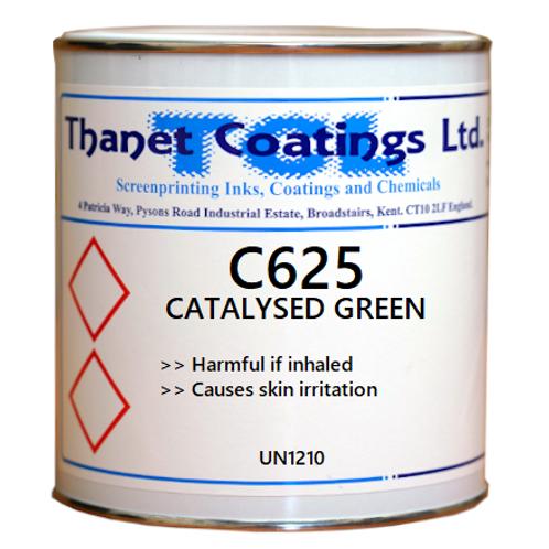 C625 CATALYSED GREEN