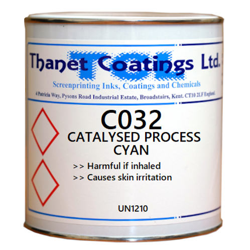 C032 CATALYSED PROCESS CYAN