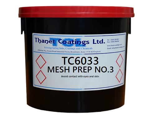 TC6033 MESH PREP NO.3