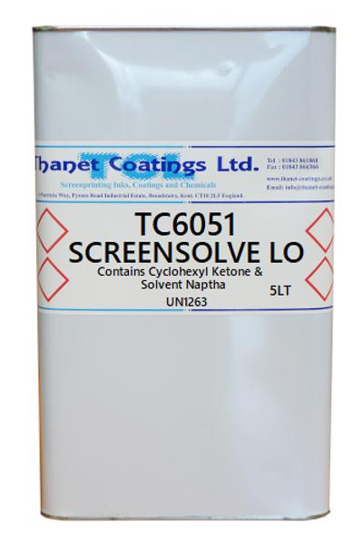 TC6051 SCREENSOLVE LO