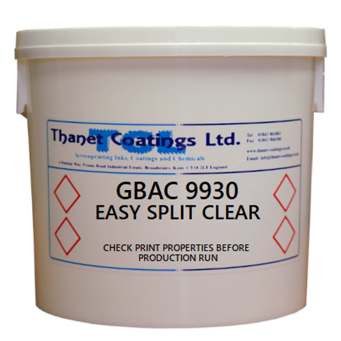 GBAC 9930 EASY SPLIT CLEAR