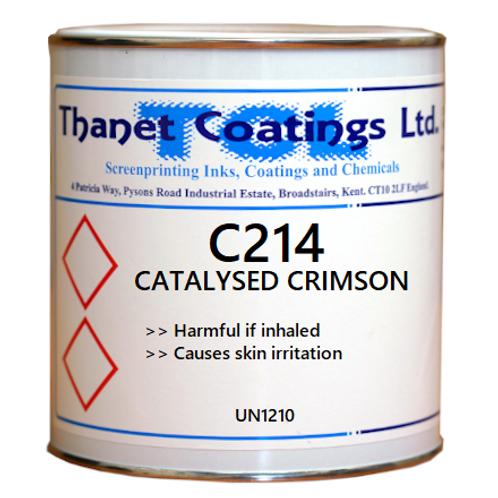 C214 CATALYSED CRIMSON