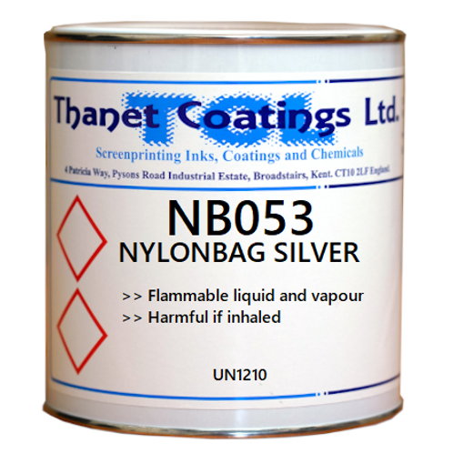 NB053 NYLONBAG SILVER