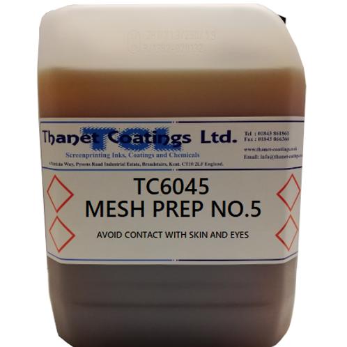 TC6045 MESH PREP NO.5
