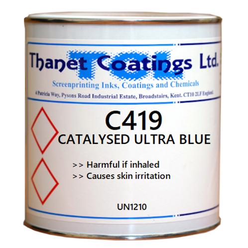 C419 CATALYSED ULTRA BLUE