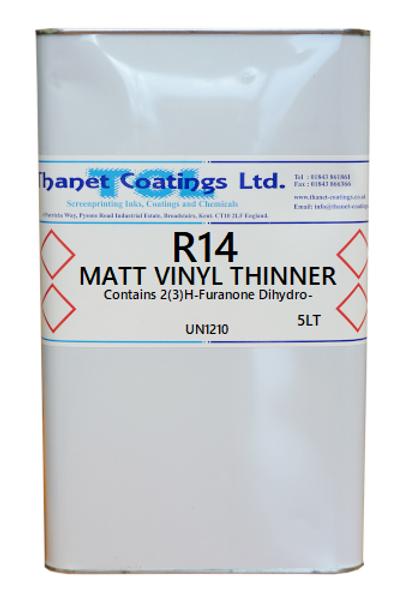R14 MATT VINYL THINNER