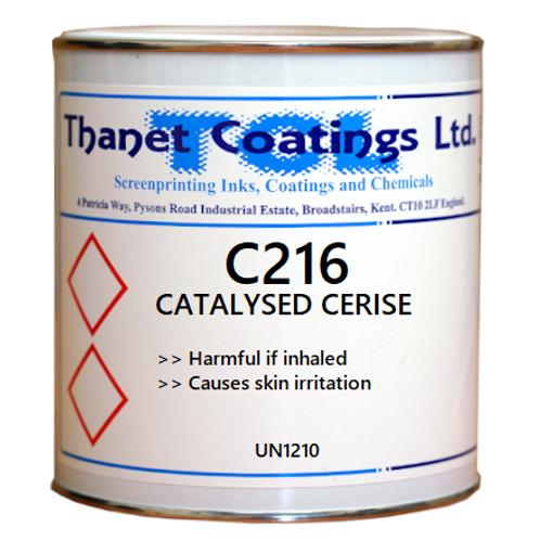 C216 CATALYSED CERISE