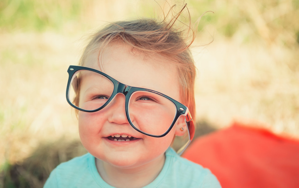 Young Child With Glasses