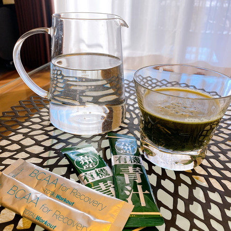 朝、飲む健康