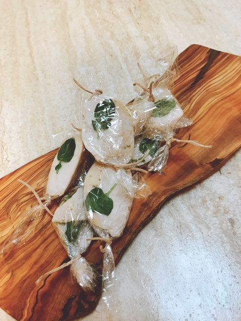 柚子胡椒チキン
