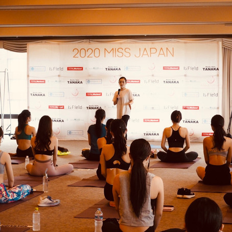 ミス・ジャパン Beauty Camp