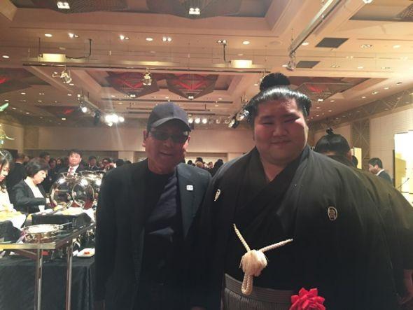 千代皇とケビンさん