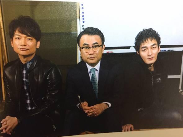 香取さん、三谷さん、草薙さん