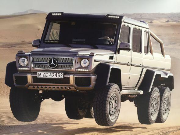 6駆 Mercedes-Benz