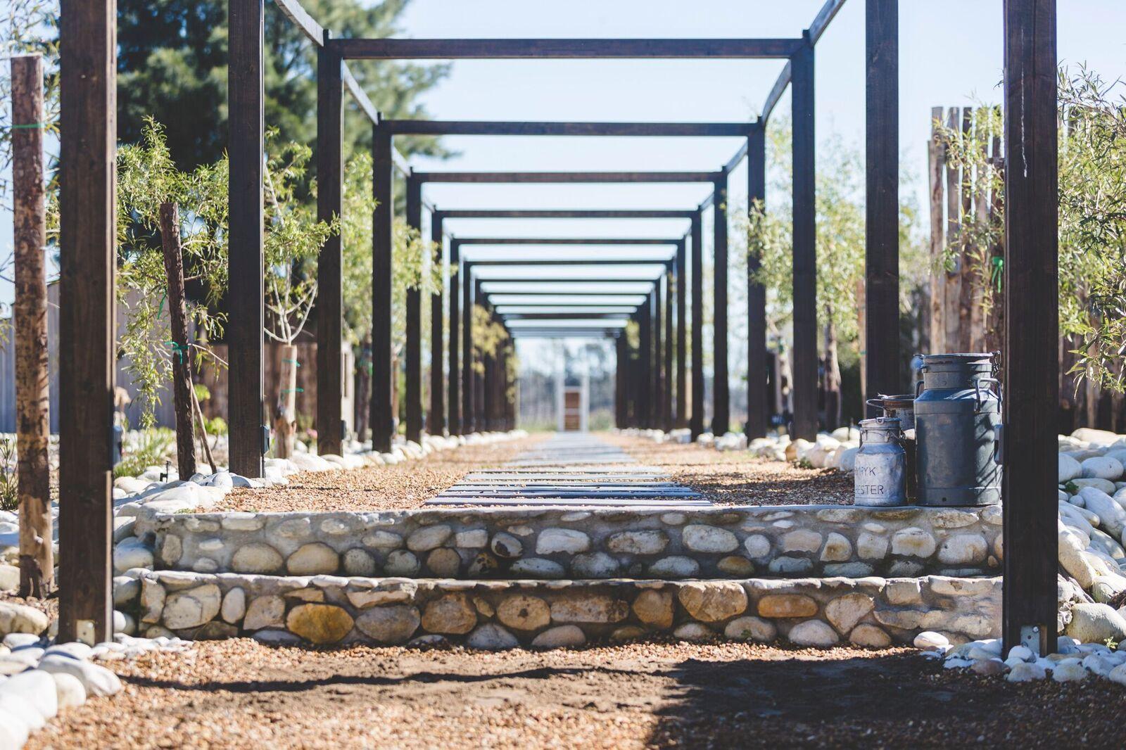 Welcoming walkway