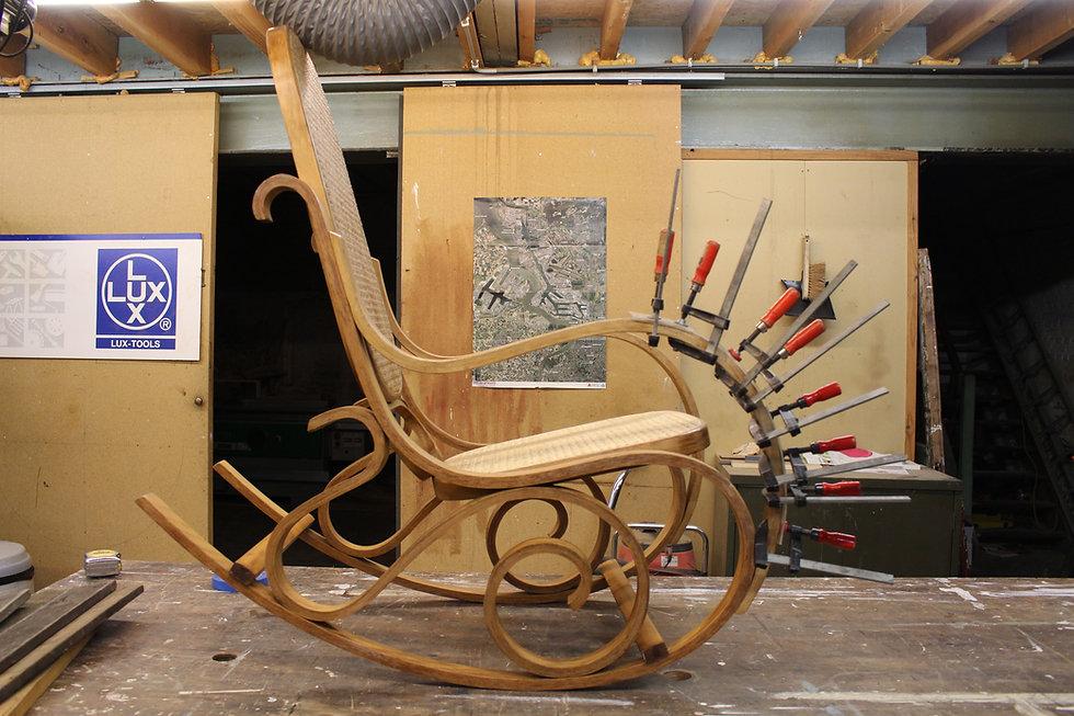 restauratie schommelstoel