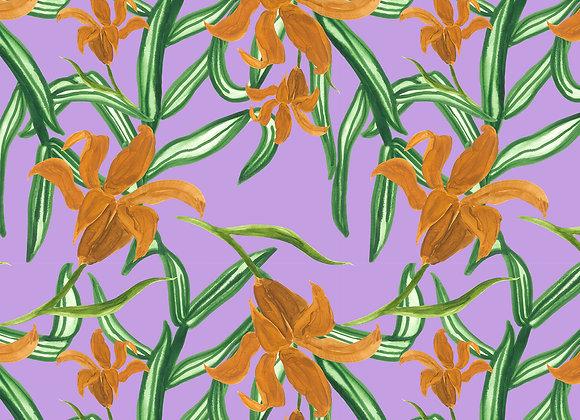 EM168 Painted Botanical Tropical
