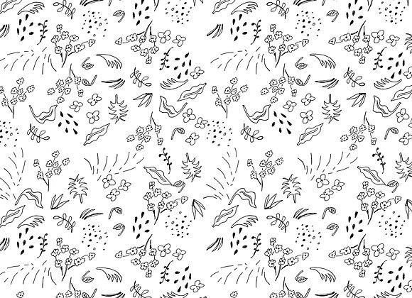 EM215 Doodle Ditsy Floral